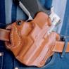 DeSantis Speed Scabbard Holster Style 002 Pistol Holster for S&W M&P w/ Crimson Trace Lightguard