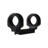 DNZ Products Tube Mount Savage All Round Receiver Long Action One Inch Medium Height Black 18200OS
