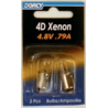 Dorcy 4D Xenon Bulb For 3105 41-1697 - Single Pack OR Case of 12