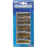 Dorcy D Mastercell Alkaline Batteries - 4 Per Card 41-1621 - Case of 10