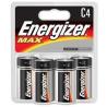 Energizer Max Alkaline C Batteries 1.5 Volt