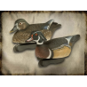 FinalApproach Wood Duck Decoy, 6 Pack