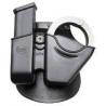 Fobus Handcuff / Magazine Combo - Glock / H&K 9/40 CU9GBH