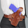 Galco Fletch High Ride Belt Holster Fits Glock 26