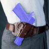 Galco Quick Slide Left Hand Belt Holster Fits Glock 17