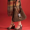 Galco Wisteria Holster Handbag Ambidextrous - Brown WISBRN