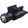 Laser Devices LAS / TAC 2 LED Tactical Flashlight for Pistols w/ Standard Accessory Rails