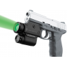 Laser Genetics ND-3P Sub Zero Green Laser Designator Pistol Light w/ Handgun Mount
