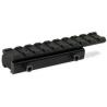 Leapers Weaver/Picatinny Tactical Rail Adaptor for .22/Airgun Rifles - 100mm Long, 9 Slots MNT-PMTOWL