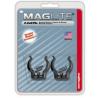 MagLite ASXCAT6 Universal Mounting Brackets for MagLite C-Cell Flashlight, 2/Pkg