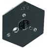 Manfrotto Bogen Hexagonal Qr Mntg Plate 1/4-20 Flush 130-14