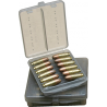 MTM Ammo Wallet .44 Remington Magnum 12 Cartridge Smoke W12B-44-41
