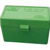 MTM Case-Gard 50 Rifle Ammo Boxes .220 Swift to .458 Winchester Green RL-50-10