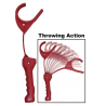 MTM E-Z Throw 3 Clay Target Thrower with Pivotal Arm Swing, Red EZ-3