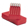 MTM J-50 Slip-Top Boxes .45 Auto Red J-50-45-30