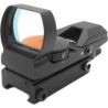 NcSTAR Red Dot Sight - Tactical Red Dot With 4 Different Reticles / Black