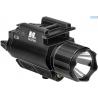 NcSTAR AQPFLSG Green Laser Sight & 150 Lumen LED Flashlight w/ Weaver QR