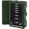 Pelican 8 Drawer Mobile Medical Case,29.75x17.87x10.80in