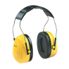Peltor Optime 98 Over-the-Head/Cap-Mount Yellow Earmuffs H9A,H9P3E