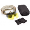Revision Eyewear Desert Locust Ballistic Goggle - Essential Kit with Clear, Solar lenses