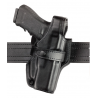 Safariland 070 Duty Holster, SSIII Mid-Ride, Level III Retention - Basket Black, Right Hand 070-683-181