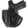 Safariland 328 Belt Holster, Pancake Style - Plain Black, Left Hand 328-39-62