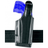Safariland 520 EDW Holster with Thumb Break, Clip on Belt Loop, Adjustable Angle - Basket Black, Rig