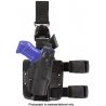 Safariland 6305 ALS Tactical Holster w/ Quick Release Leg Harness - STX TAC Black, Right Hand 6305-83-131
