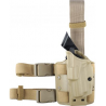Safariland 6354 ALS Tactical Thigh Holster - STX FDE Brown, Left Hand 6354-560-552