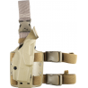Safariland 6355 ALS Tactical Thigh Holster - STX FDE Brown, Right Hand 6355-84-551