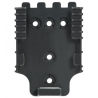 Safariland Duty Receiver Plate, OD Green 6004-22-56