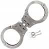 Schrade Chain Link Handcuffs,Hinged,Stainless Steel