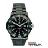 Smith & Wesson Commander Tritium H3 Watch - 45 mm, Black Stainless Steel