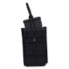 Tacprogear Single Rifle Mag Pouch, Open Top, Short