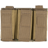 Tactical Assault Gear MOLLE Enhanced Pistol Mag (3) Pouch