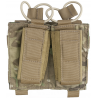 Tactical Assault Gear MOLLE Shingle Pistol Enhanced 2 Mag Pouch