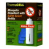 Thermacell Refill Value Pack Earth Scent 4-cart/12-mats
