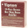 Tipton 14-Piece Bronze Best Bore Brush Set 402173