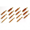 Tipton 30 Caliber Rifle Nylon Bristle Bore Brushes