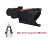 Trijicon ACOG 4x32 Red Triangle Reticle Rifle Scope with FREE Gerber Suspension Multi-Plier