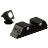 Trijicon GL05 Glock 3 Dot Front & Rear Steel Sight Set NO TRITIUM