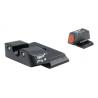 Trijicon Heavy Duty Night Sights Orange Front Outline S&W M&P Shield SA139-C-600722