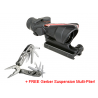 Trijicon ACOG 4x32 Scope w/ Chevron BAC Flattop Reticle & Flat Top Adapter