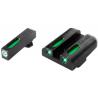 Truglo TG13GL3A TFX Glock 42 Green 3 Dot Tritium/Fiber Optic Sight