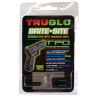 TruGlo Tritium Fiber Optic Brite-Site Green Front & Yellow Rear Sight - Smith and Wesson M&P TG131MPTY
