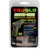 TruGlo Tritium / Fiber Optic TFO Hand Gun Sights - Green Front/Yellow Rear