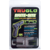 TruGlo Brite-Site Tritium Fiber Optic TFO Handgun Night Sights, Green Front & Rear
