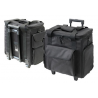 TZ Case SB515TB Small Soft Beauty Case - Black Nylon