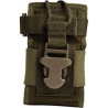 Uncle Mike's Law Enforcement HandHeld Radio / GPS Pouch, Black or OD Green, 7702435, 7702436