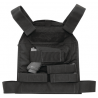 US Palm Handgun Defender Soft Armor Plate Carrier With One Level IIIA Soft Armor Panel Large/Standard 10x12.5 Inch Panel Right Hand Black USP00400212